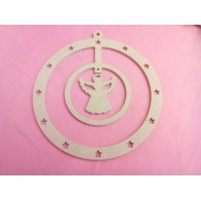 4mm MDF Angel Dreamcatcher